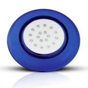 Luminária para Piscina Led 18W 12V RGB Multicolor 12,5 cm