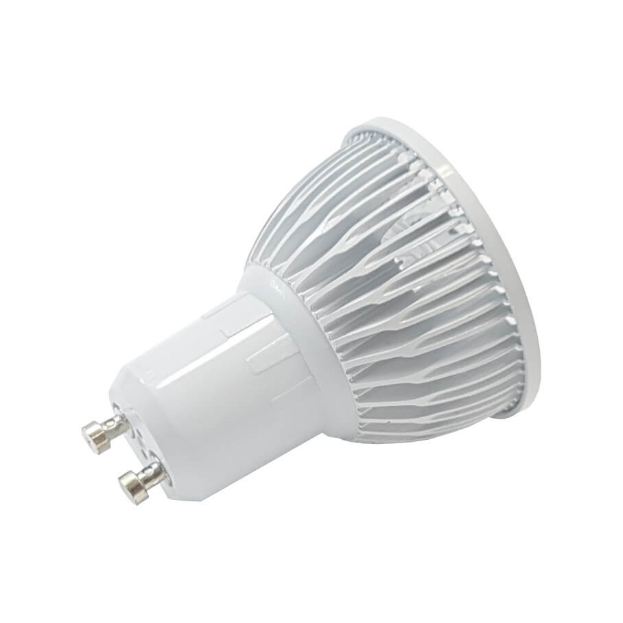 L mpada dicr ica led mr 16 gu10 5w bivolt for Lampada led gu10
