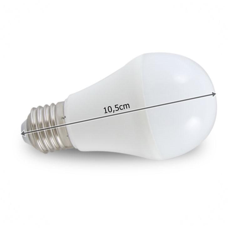 Lâmpada Led Bulbo 9W 12V E27 ILUCTRON