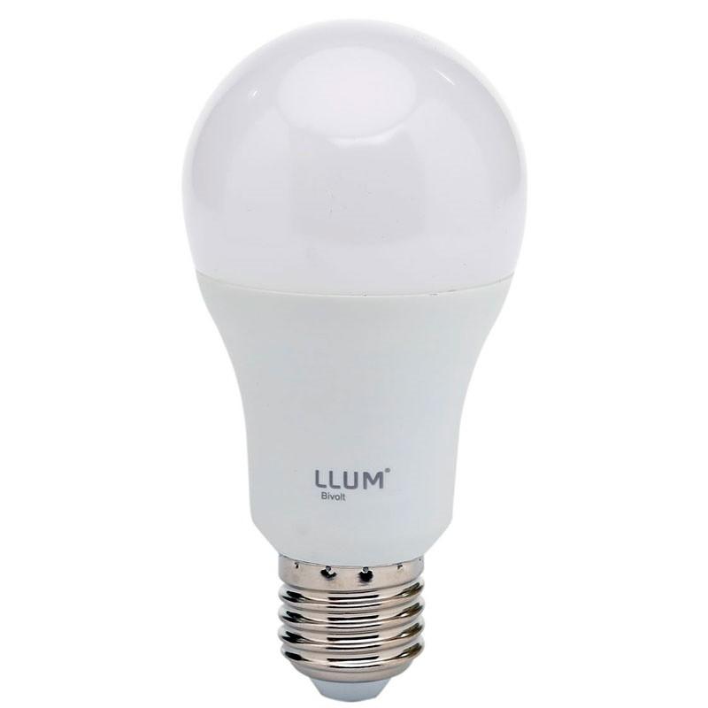 Lâmpada LED A 60 Bulbo 9W Bivolt LLUM