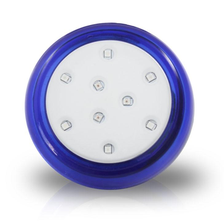 Luminária de Led Piscina 9W 12V 8 cm Led Azul