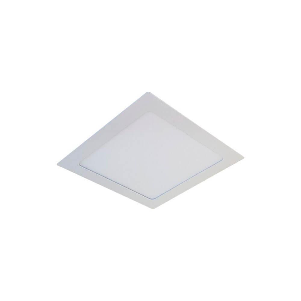 Plafon de Led Quadrado de Embutir 12W
