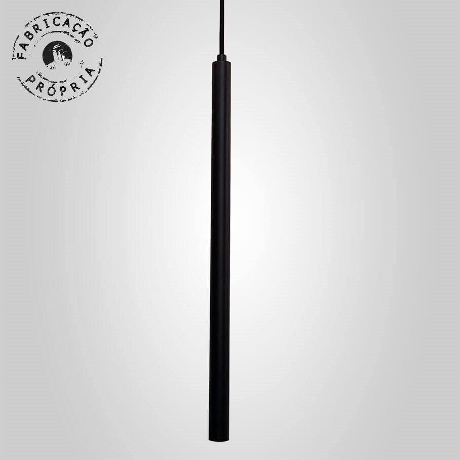 Pendente Tubeto  Cores G9 2,5 x 50cm