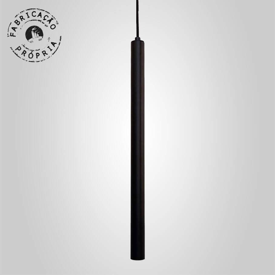 Pendente Tubeto Cores G9 3,2 x 50cm