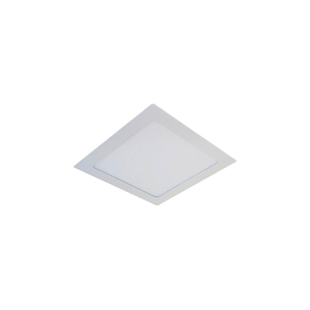 Plafon de Led  Quadrado de Embutir  6W