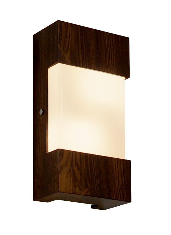 Arandela Listra Em Madeira 30x15x8,5cm 2xE27 Bivolt Union Iluminação 004