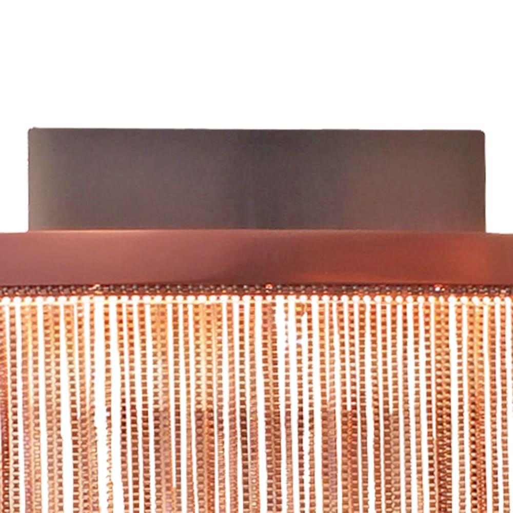 Arandela Voile Rosê 32x8x26cm Led 8W Bivolt Bella Iluminação BB017