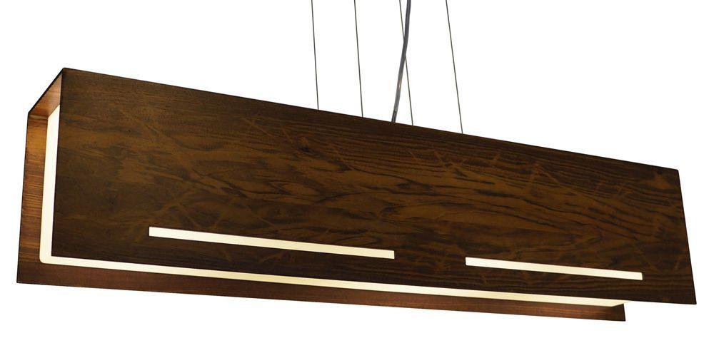 Pendente Castellar Em Madeira 20x90x15cm 4xE27 Bivolt Union Iluminação 008