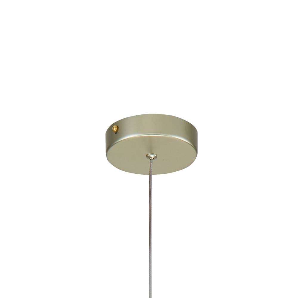 Pendente Ludique Dourado 10x6cm Led 5W Bivolt Bella Iluminação EG006