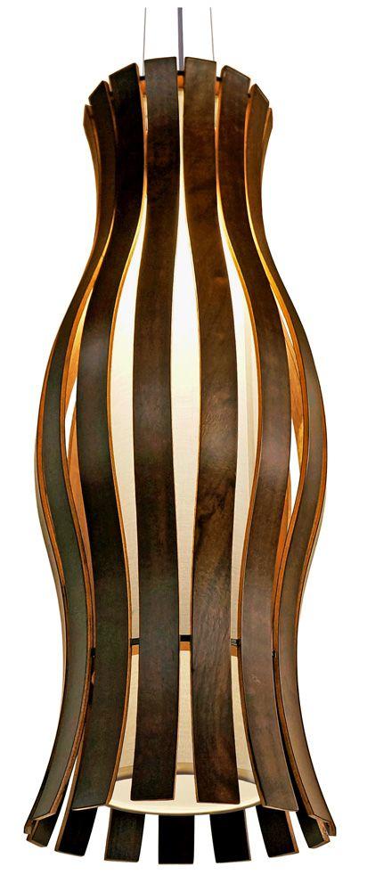 Pendente Movement Grande Ø26x70cm 1xE27 Bivolt Union Iluminação 169