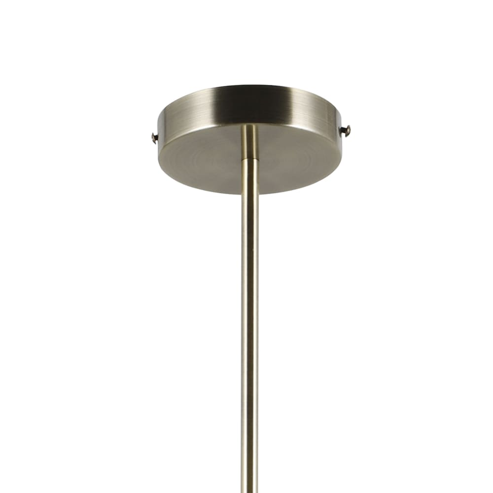 Pendente Petit Poa French Gold 31x140cm 6xE27 30W Bivolt Bella Iluminação SQ004