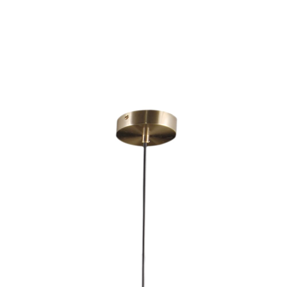 Pendente Petit Poa French Gold 98x15x28cm 5xE27 25W Bivolt Bella Iluminação SQ002