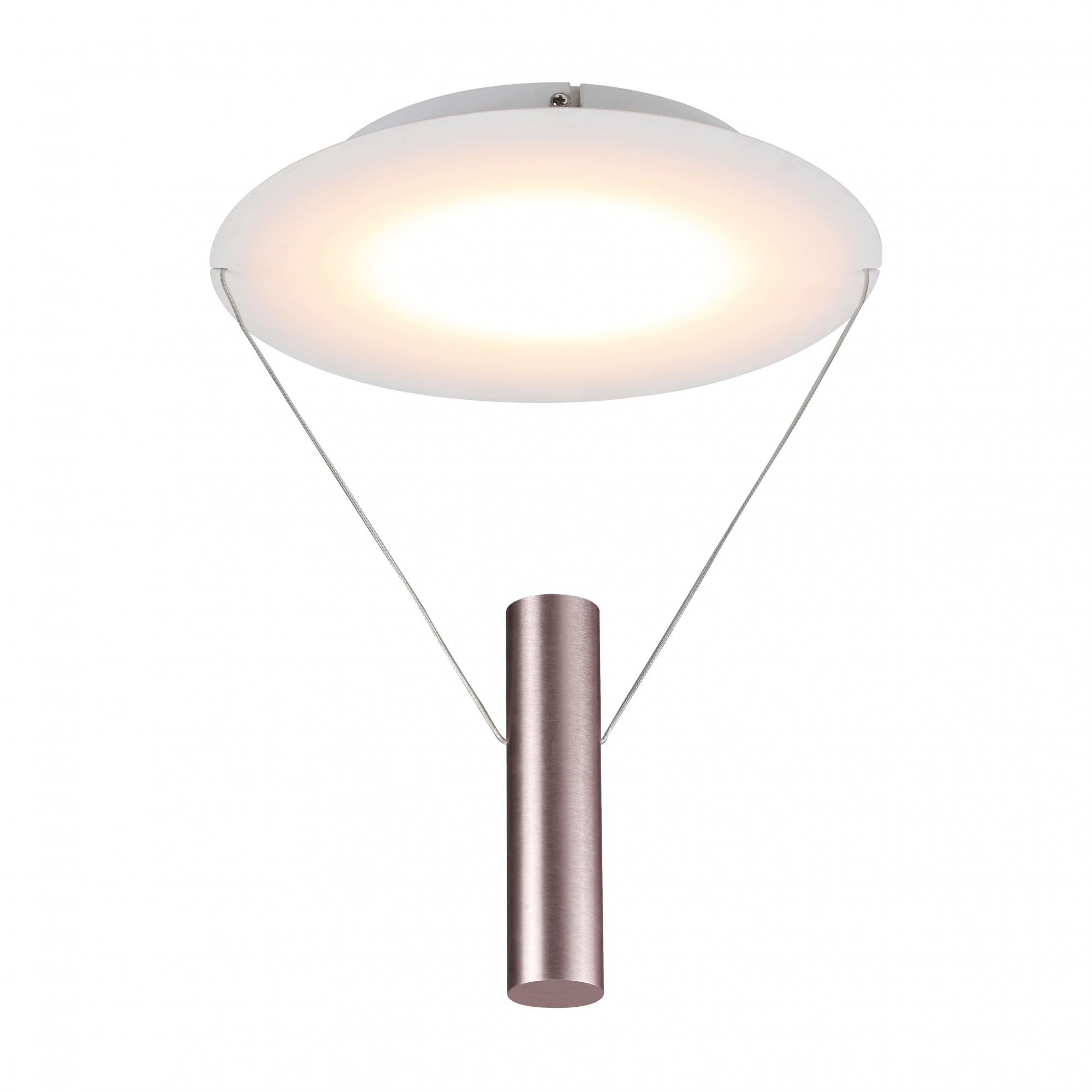 Plafon Tino Pale Gold 30x60cm Led 12W Bivolt Bella Iluminação CD007