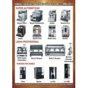 Assistência Técnica Especializada em Máquinas de café Saeco e Bianchi Tel: (11) 2965-3511 ou (11) 2028-7529