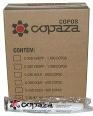 Copo Descartável de 80ml Copaza - Caixa com 3.000 copos
