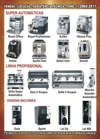 Locação de Máquina de Café Expresso