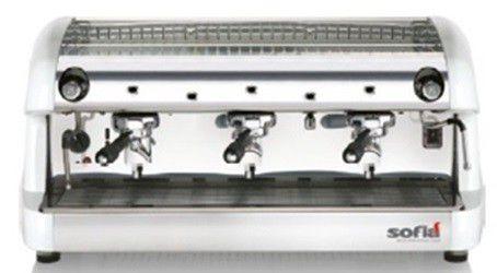 Máquina de Café Expresso Sofia Semi Automática - 03 grupos