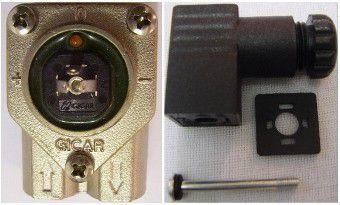 Medidor de Fluxo e Conector Gicar