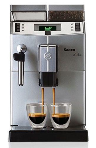Saeco Lirika Cafeteira Expresso Automática Café em Grãos 110V Com Moedor Com Visor Digital e Pressão 15 Bar