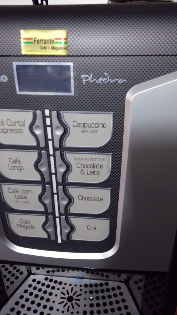 Saeco Phedra Cafeteira Expresso Automática Usada (Semi Nova)