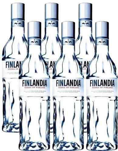 Vodka Finlandia 1 Lt 06 Unidades