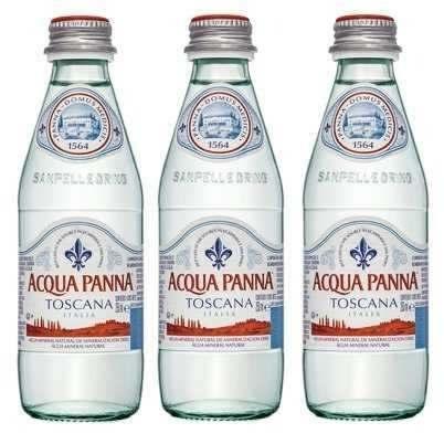 Água Mineral Acqua Panna Toscana Sem Gás 250ml 03 Unidades