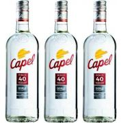 Pisco Capel Reservado 750ml 03 Unidades
