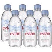 Água Mineral Evian Sem Gás 330ml 06 Unidades