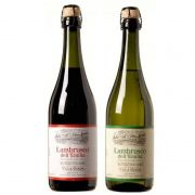 Kit 02 Lambrusco Villa Giada 750ml 01 Tinto e 01 Branco