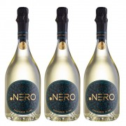Kit 03 Un. Espumante Ponto Nero Enjoy Sauv. Blanc Brut 750ml