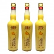 Kit 03 Un. Licor Alessandrosaba Crema di Arancello 700ml