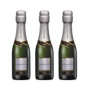 Kit 03 Un. Mini Espumante Chandon Baby Riche Demi-Sec 187ml