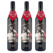 Kit 03 Un. Vinho Araldica Fazzoletto Barbera Passito 750ml
