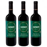 Kit 03 Un. Vinho Caparzo Brunello Di Montalcino DOCG 750ml