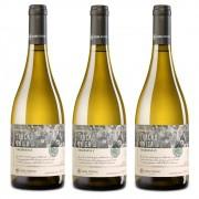 Kit 03 Un. Vinho Casa Perini Fração Única Chardonnay 750ml