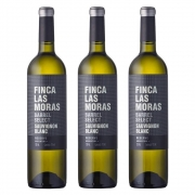 Kit 03 Un. Vinho Finca Las Moras Barrel Select Sauvig. Blanc