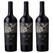 Kit 03 Un. Vinho Luigi Bosca La Linda Old Vines Malbec 750ml