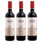 Kit 03 Un. Vinho Miolo Seleção Cabernet Sauv. e Merlot 750ml