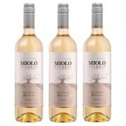 Kit 03 Un. Vinho Miolo Seleção Pinot Grigio e Riesling 750ml