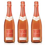 Kit 03 Unid. Espumante Chandon Passion Rosé Demi-Sec 750ml