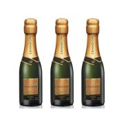 Kit 03 Unid. Mini Espumante Chandon Baby Réserve Brut 187ml