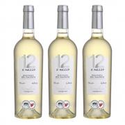 Kit 03 Unid. Vinho 12 e Mezzo Malvasia del Salento IGP 750ml