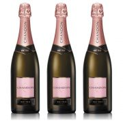 Kit 03 Unidades Espumante Chandon Brut Rosé 750ml