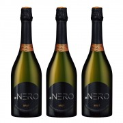 Kit 03 Unidades Espumante Ponto Nero Cult Brut 750ml