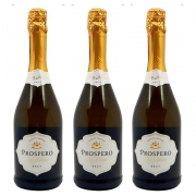 Kit 03 Unidades Espumante Prospero Brut 750ml