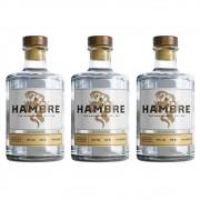 Kit 03 Unidades Gin Hambre 750ml
