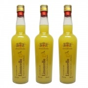 Kit 03 Unidades Licor Alessandrosaba Limoncello 700ml