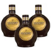 Kit 03 Unidades Licor Mozart Dark Chocolate 700ml