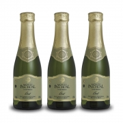 Kit 03 Unidades Mini Espumante Monte Paschoal Brut 187ml