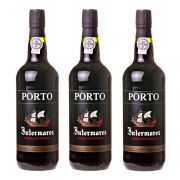 Kit 03 Unidades Vinho do Porto Intermares Ruby 750ml